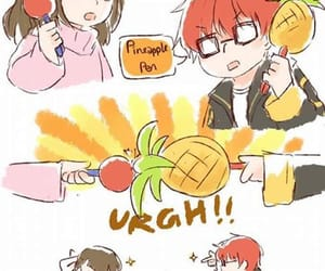 Mc, mystic messenger, and ppap image