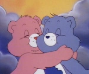 care bears, cartoon, and aesthetic image