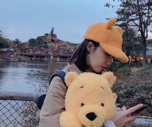 bear, apink, and yellow image