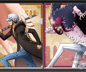corazon, one piece, and trafalgar law image