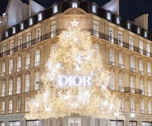 christmas, dior, and light image