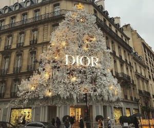 dior, christmas, and paris image