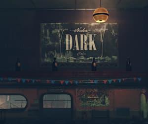 abandoned, nuka cola, and dark image