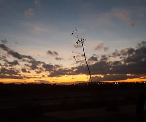 nature, sunset, and obsession image