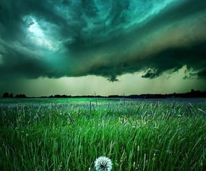 nature, clouds, and green image