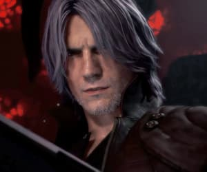 Dante, devil may cry, and gif image