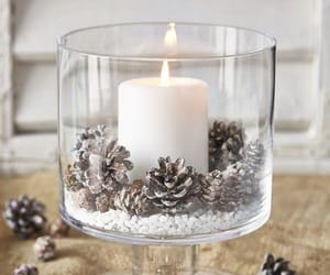 aesthetic, chandelier, and christmas image