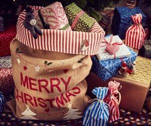 gifts, holiday, and xmas image