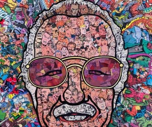 stan lee, Marvel, and comic image