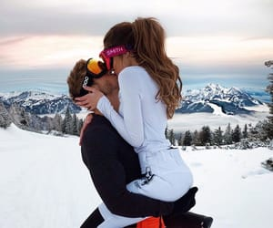 couple, goals, and winter image