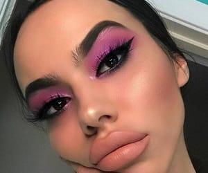 eye makeup, girly inspiration, and makeup goals image