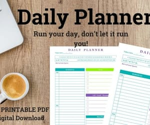 etsy, planner, and daily planner image