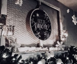 candles, december, and garland image