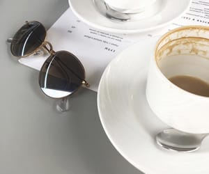 cafe, coffee, and ray ban image