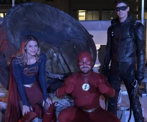 arrow, crossover, and the flash image