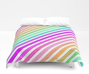 bedding, fun, and happy image