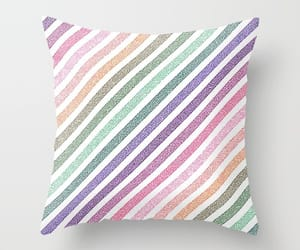 chic, pastel, and pillow image