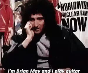 Freddie Mercury, gif, and brian may image
