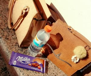 bag, icon, and milka image