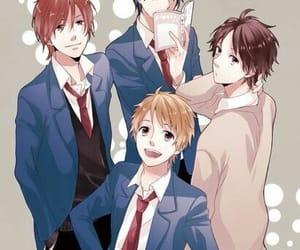 anime, rainbow days, and anime boys image