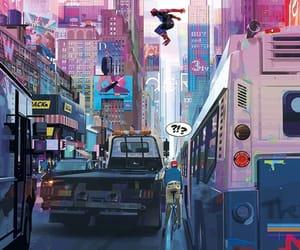 animation, cartoon, and Marvel image