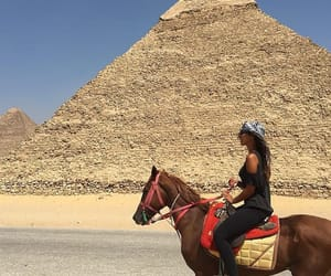 horse, egypt, and beauty image