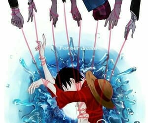 one piece, luffy, and robin image
