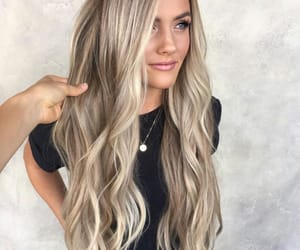 beauty, blonde, and blonde hair image