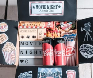 diy gift box and movie night box image