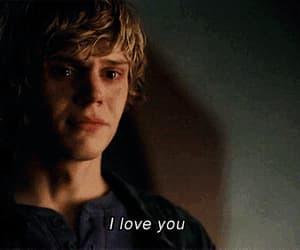 cry, gif, and I Love You image