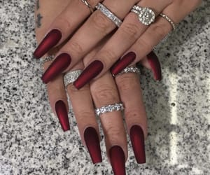 accesories, jewelry, and nails image