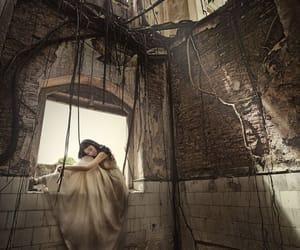 abandoned, ruin, and beauty image