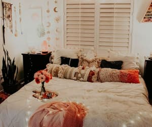 bedroom, cute, and decoration image