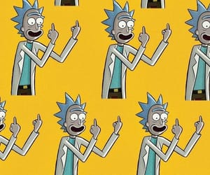 background, wallpaper, and rick image
