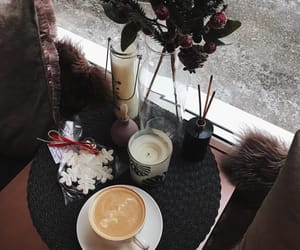 beauty, cafe, and christmas image