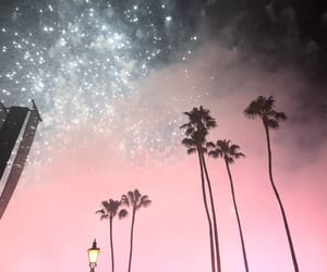 blue, smoke, and firework image