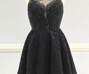 lace homecoming dresses, homecoming dresses a-line, and homecoming dresses black image
