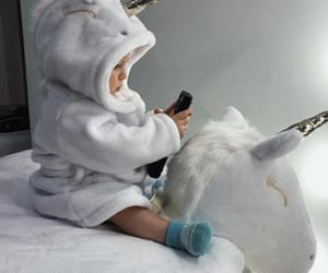 baby, unicorn, and cute image