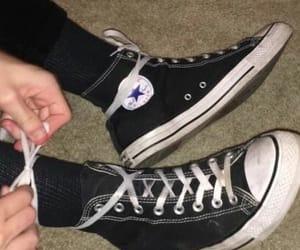 converse, grunge, and black image