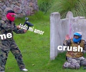 amor, crush, and humor image