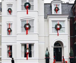 christmas, city, and christmas decorations image