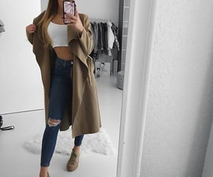 girl, fashion, and iphone image