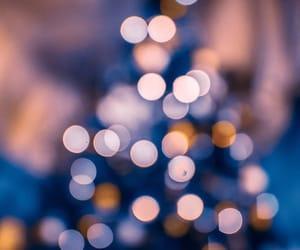 background, bokeh, and christmas image
