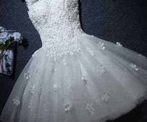 a-line homecoming dress and homecoming dress white image