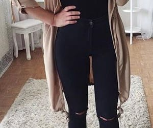 beige, fashion, and outfits image