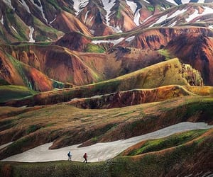 adventure, hiking, and iceland image