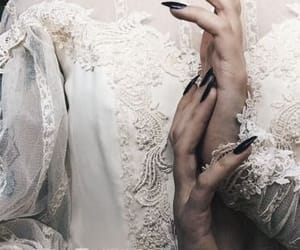 dark, gothic, and nails image