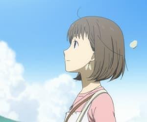 anime, 蛍, and 蛍火の杜へ image