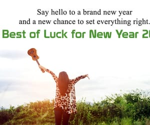 new year good wishes, new year good luck msg, and all the best msgs image