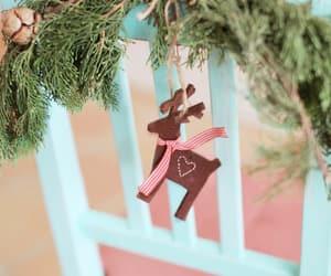 christmas, green, and tree image